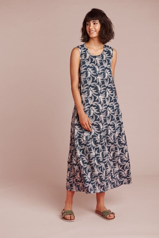 Picture of Mistral Coconut Tree Printed Dress