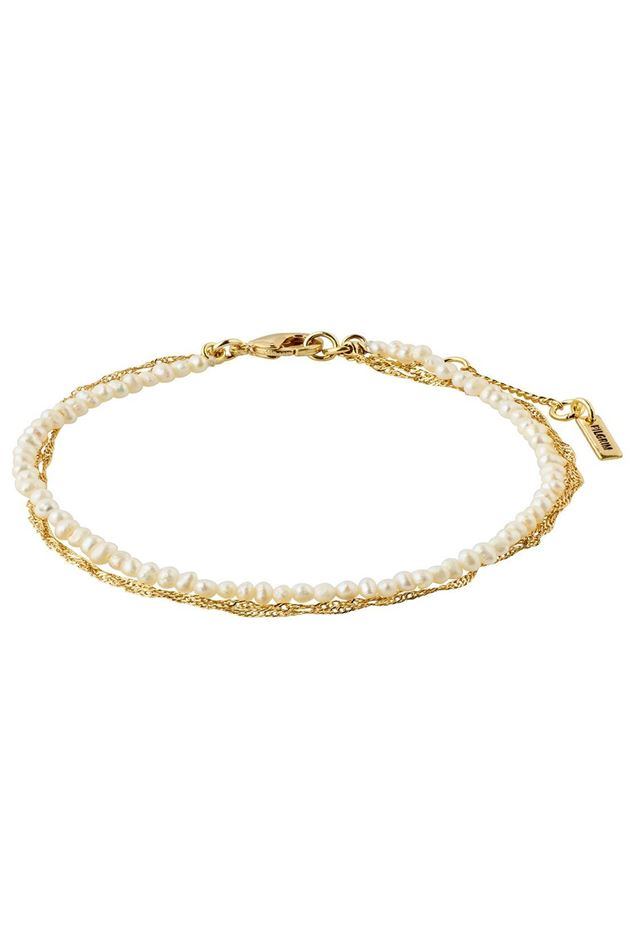 Picture of Pilgrim Native Beauty Freshwater Pearl Gold-Plated Bracelet