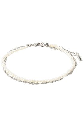 Picture of Pilgrim Native Beauty Freshwater Pearl Silver-Plated Bracelet