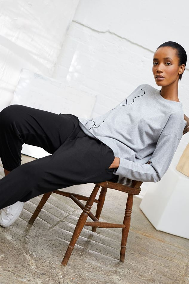 Picture of Thought Emerson Tie Waist Joggers