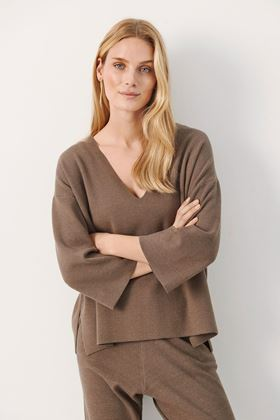 Picture of Part Two Kenny  Knitted Pullover